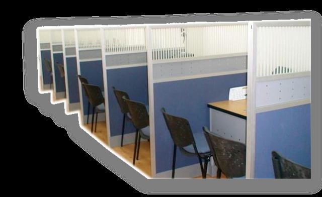 Archivo total divisiones modulares oficina abierta for Oficinas modulares